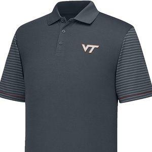 🌟NWT Virginia Tech Hokies Men's Linebacker Polo